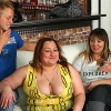 Seductive Chubby party girls are drunk & letting the young men have their way with them